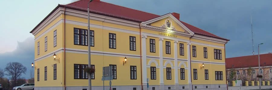 A Semsey kastély mai formájában